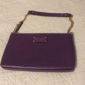 Purple Kate Spade purse